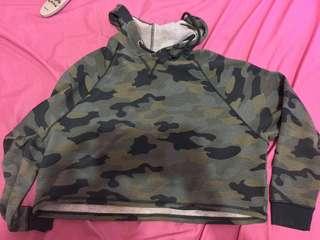 Hoodie army H&M