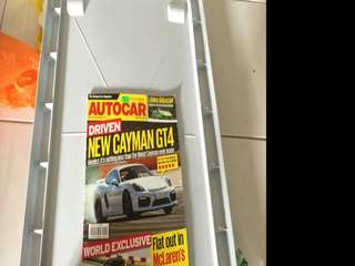 Auto Car with Cayman GT4 cover