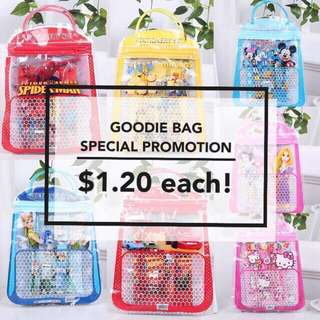 [OFFER] Goodie Bag / Party Gift / Door Gift / Children Gift /Stationery Set / Hand Carry Goodie Bag