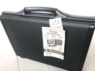 Unused new Samsonite Hard briefcase