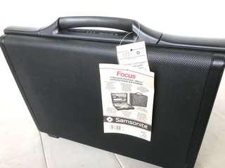 Unused new Samsonite Hard briefcase