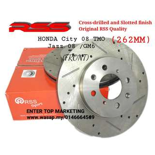 RSS Disc Rotor - Honda City 08 TMO /Jazz 08 /City 14 GM6