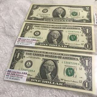USA Notes All $26