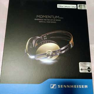 Sennheiser Momentum 1.0 Over Ear- Ivory (for iOS user)