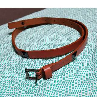 Authentic Vince Camuto Studded Leather Belt