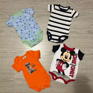 Brand new baby boy romper l