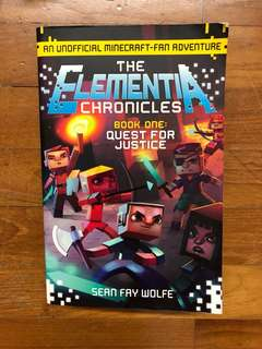 #1 Quest for justice: the elementa chronicles Minecraft Book