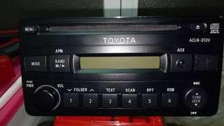 🚚 TOYOTA音響USB AUX MP3/VIos原廠音響主機~兩台合賣