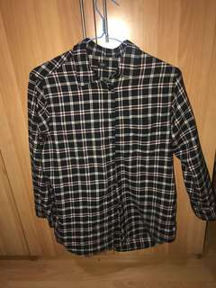 Plus size uniqlo flannel up to UK18 new