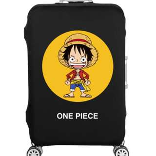 One piece luggage cover