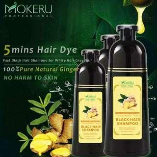 Mokeru black shampoo hair dye