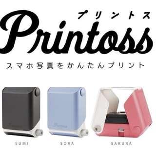 🚚 [現貨]Printoss 拍立得列印機[五月購入新貨]