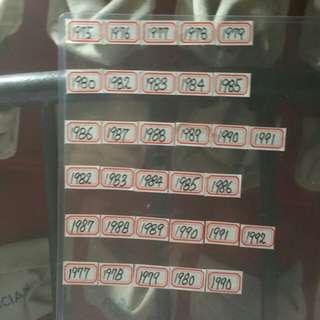 市(特價品相$168)壹毫貳毫五毫(女皇硬幣系列)