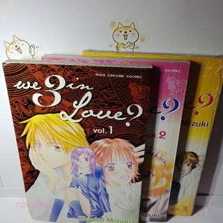 We 3 in love ? - Shioko Mizuki (vol 1 - 3 end)