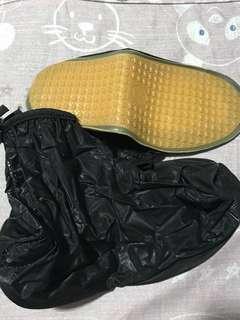 Rain shoe cover black