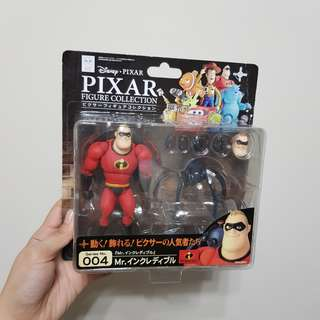 RARE Revoltech Mr. Incredible Diney Pixar The Incredibles