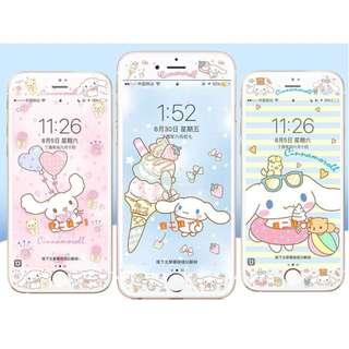 Sanrio 玉桂狗v1 - iPhone 手機屏幕保護貼