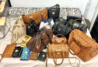 Take all - ORIGINAL MCM LOT BAGS AND WALLETS
