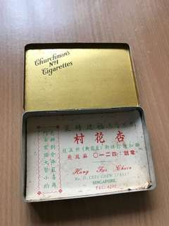 Antique Cigarette box