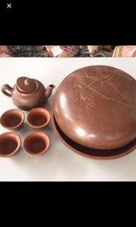 Japan Purple teapot