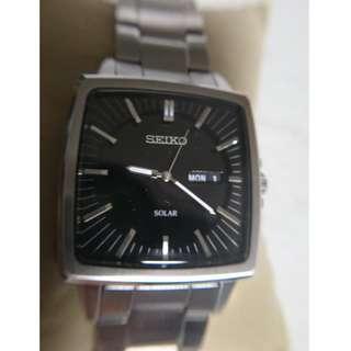[父親節優惠,買任何一隻九折,買任何兩隻或以上八折,優惠期至6月20日] 全新精工光能手錶 (New Seiko Solar Watch)