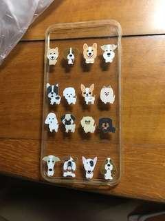 Dog print iPhone 6sPlus phone cover
