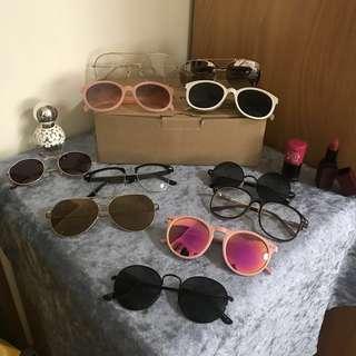🚚 時尚歐美墨鏡 | Marc jacobs daisy dream 香水 | bbia 唇膏 | etude house 唇露 | sun glasses | fragrance| perfume | lip stick | lip paint