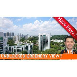 High Floor 2 bdrs with Unblock Greenery