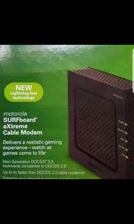 Motorola Surfboard extreme Cable Modem