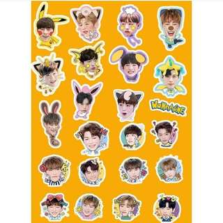 Preorder - WANNA ONE STICKER exc.pos