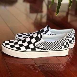 Vans Slip On Mix Checkerboard #mausupreme