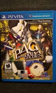 PSVita P4G Persona 4 Golden (PS Vita)