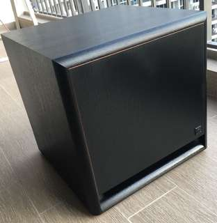 "Acoustic Research 10"" Powered subwoofer"
