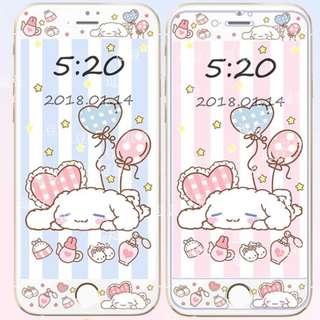Sanrio 玉桂狗v3 - iPhone 手機屏幕保護貼