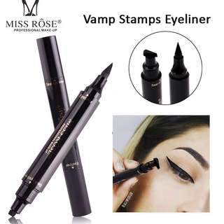 Eyeliner with stamp