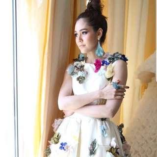 Sleeveless 3D Dress