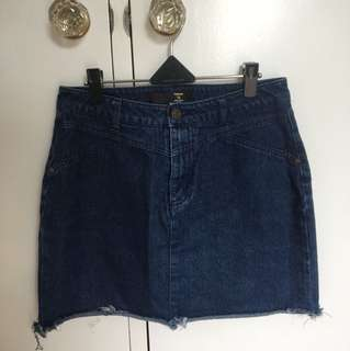 Factorie denim skirt 12