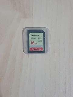 Sandisk extreme sdhc 16GB!!!
