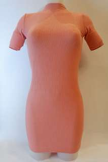 Turtleneck Dress (Pink)