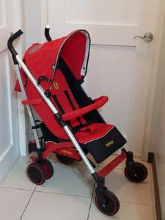 Authentic Licensed Ferrari Baby Stroller