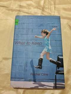 What to keep (Rachel Cline)