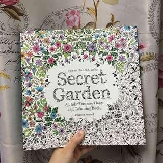 Original Secret Garden Colouring Book