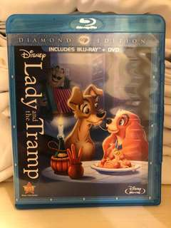 Disney Lady and the Tramp Diamond Edition Blu-ray
