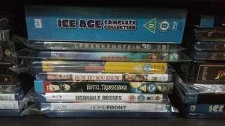 Blu-rays ($10-$15)