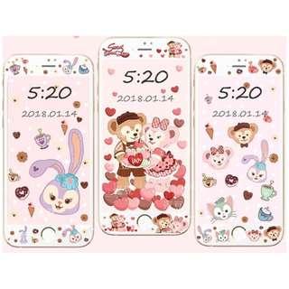 廸士尼Duffy, Stella Lou v1 - iPhone 手機屏幕保護貼&手機殼