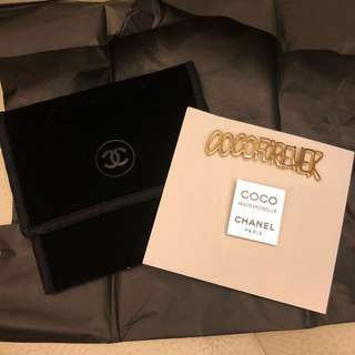 Chanel VIP Gift Pins x 2 pcs 心囗針 2個 Coco mademoiselle