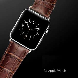Genuine Leather Buckle Wrist Strap Band Belt for Apple Watch iwatch 38mm 42mm