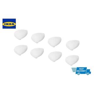 IKEA UNDVIKA Corner bumper, white 8 pieces