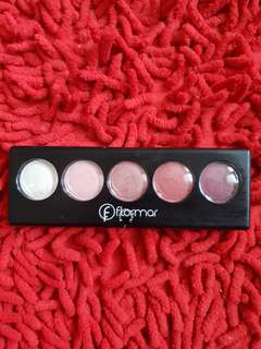 Preloved makeup  Flamour Eye Shadow Pallete no 6 Pink Desserts