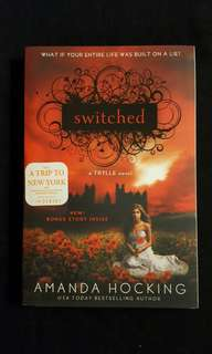 TRYLLE Trilogy ~ Switched (book1) by Amanda Hocking